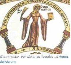 grammatica Hortus-deliciarum artes liberales