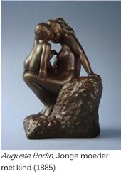 Moeder en kind Rodin