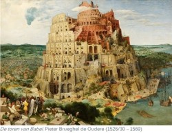 Pieter Bruegel the Elder - The Tower of Babel (Vienna) 1526-30-1569
