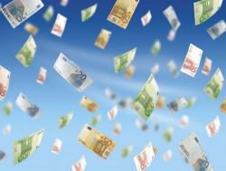 Het regent geld